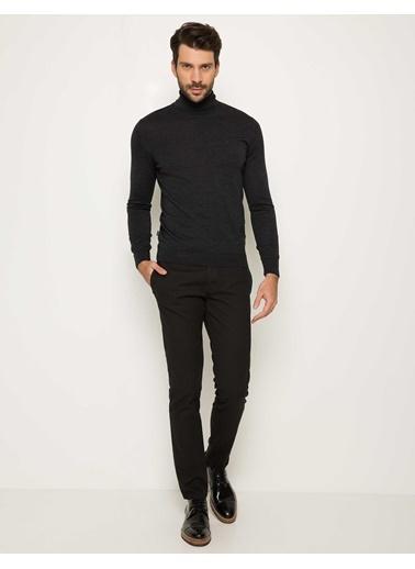 Pierre Cardin Slim Fit Pantolon Siyah